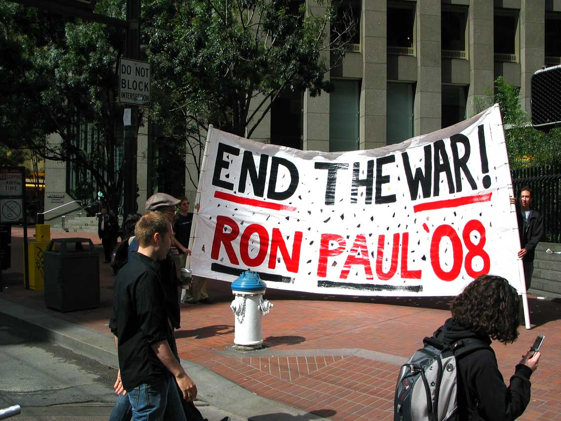 End The War Ron Paul